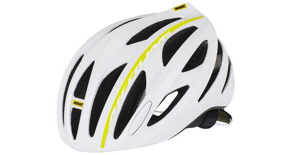 Mavic Aksium Elite Helmet Women White/Colza Yellow